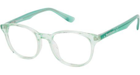 Juicy Kids Eyeglasses JU941 00OX Crystal Green