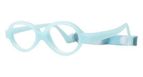 Miraflex Baby One 37 Baby Glasses Clear Blue-EC