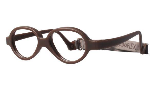Miraflex Baby One 37 Baby Glasses Milk Chocolate-M