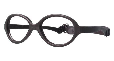 Miraflex Baby One 37 Baby Glasses Dark Brown-MM