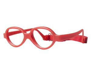 Miraflex Baby One 44 Kids Eyeglasses Red Pearl-IP