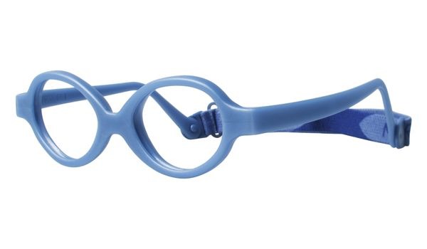 Miraflex Baby Zero Eyeglasses Dark Blue Pearl-DP