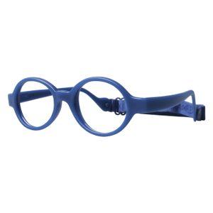 Miraflex Baby Lux Eyeglasses Dark Blue-D
