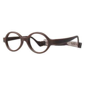 Miraflex Baby Lux Eyeglasses Milk Chocolate-M
