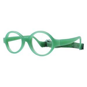 Miraflex Baby Lux Eyeglasses Clear Green-VC