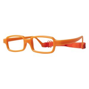 Miraflex New Baby 1 Eyeglasses Bright Orange-IN