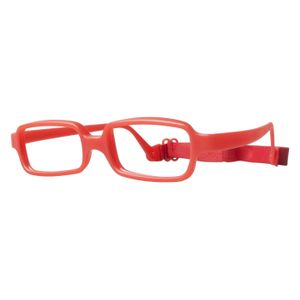 Miraflex New Baby 1 Eyeglasses Red Pearl-IP