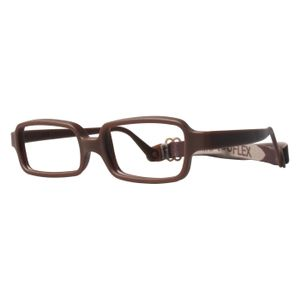 Miraflex New Baby 1 Eyeglasses Milk Chocolate-M