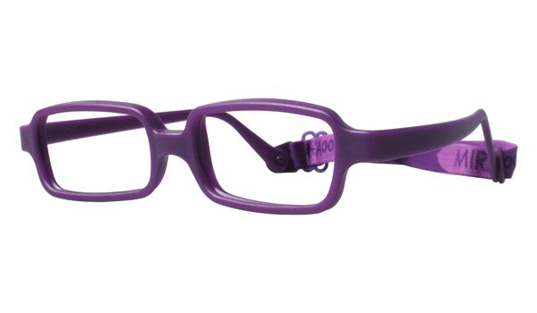 Miraflex New Baby 2 Eyeglasses Plum-P New Baby 2-P - Optiwow