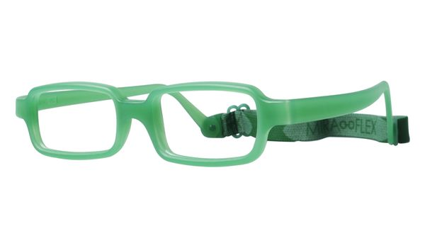 Miraflex New Baby 2 Eyeglasses Clear Green-VC New Baby 2-VC - Optiwow