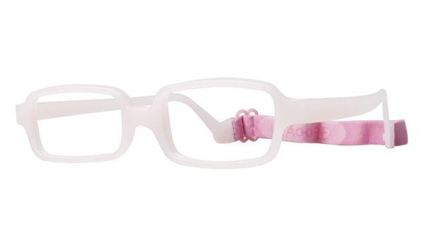 Miraflex New Baby 3 Eyeglasses Clear Pink-BC
