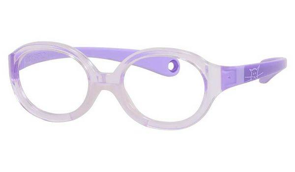 Kids By Safilo Sa0001 Eyeglasses Crystal Lilac Violet 0I72