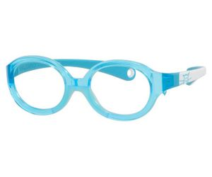 16e46f0dd6fab Kids By Safilo Sa0001 Eyeglasses Aqua White 0I75