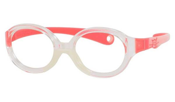 Kids By Safilo Sa0001 Eyeglasses Crystal Pink Red 0I7L