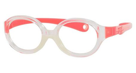 Kids By Safilo Sa0001 Eyeglasses Crystal Pink Red 0I7L