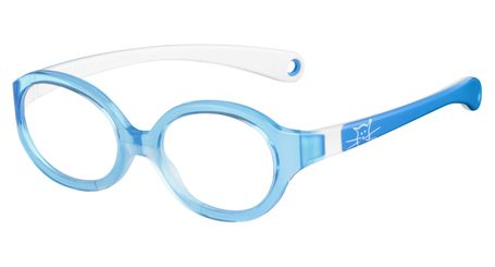 Kids By Safilo Sa0001 Eyeglasses Azure White 0R7Y