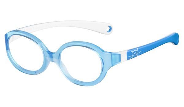 Kids By Safilo Sa0001 Eyeglasses Azure White 0R7Y
