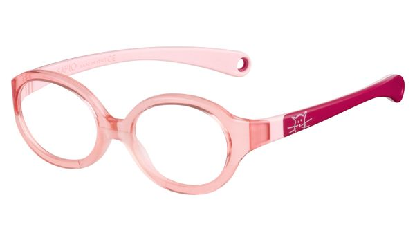 Kids By Safilo Sa0001 Eyeglasses Pink Fuchsia 0R84