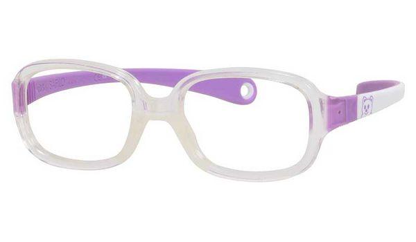 Kids By Safilo Sa0002 Eyeglasses Crystal White Lilac 0GUC
