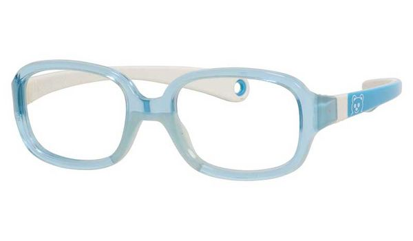 Kids By Safilo Sa0002 Eyeglasses Transparent Blue Turquoise 0GUB