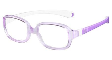 Kids By Safilo Sa0002 Eyeglasses Lilac White 0R86