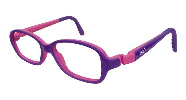Nano NAO50030  Re-Play Kids Eyeglasses Purple/ Pink Eye Size 42-15