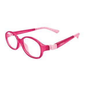 Nano NAO51342 Popping Kids Eyeglasses Pink/Pink Eye Size 42-15
