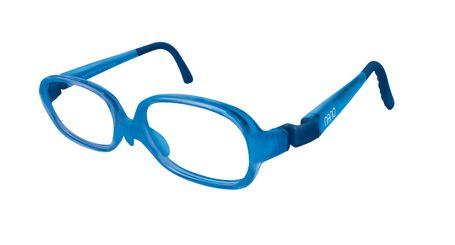 Nano NAO58442 Beat Kids Eyeglasses Matte Blue/ Crystal Blue 42-15 (2-4 Years)