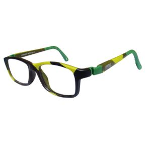 Nano NAO57344 Crew Kids Eyeglasses Camouflage/Green Eye Size 44-16