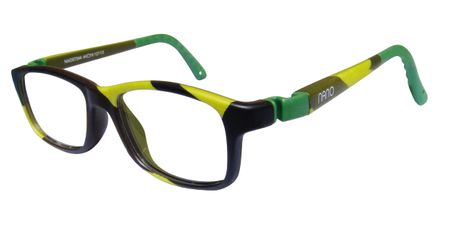 59581399b6 Nano NAO57346 Crew Kids Eyeglasses Camouflage Green Eye Size 46-17 (8-12  Years) NAO57346 - Optiwow