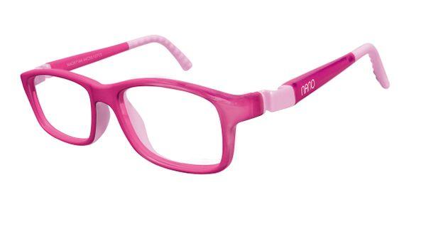 Nano Nao57546 Crew Kids Eyeglasses Pink Pink Eye Size 46 17 8 10 Years
