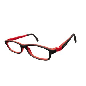 Nano NAO50210 Game-Over Kids Eyeglasses Black/Red Eye Size 46-17