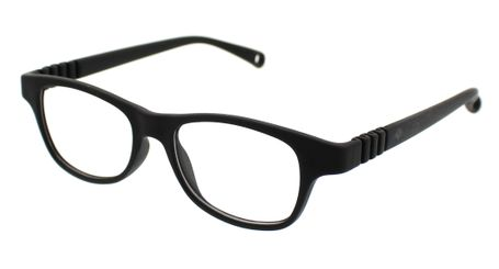 Dilli Dalli Rainbow Cookie Kids Eyeglasses Black