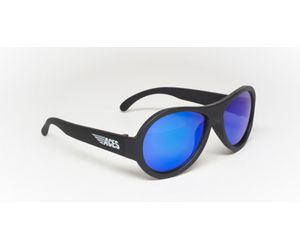 Babiators ACE-002 Sunglasses Black Ops Black Blue Lenses