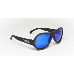 Babiators ACE-002 Sunglasses Black Ops Black Blue Lenses