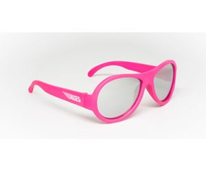 Babiators ACE-005 Sunglasses Popstar Pink Mirrored Lenses