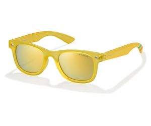 Polaroid Kids PLD-8009/N Sunglasses Polarized Transparent Yellow-0PVI-LM