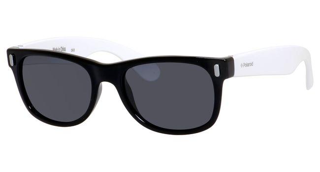 Polaroid Kids P 0115/S Sunglasses Polarized Black/White-080S-Y2