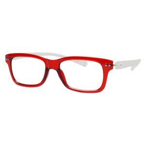 iGreen V2.7-C09 Kids Eyeglasses Shiny Red/Matt Crystal