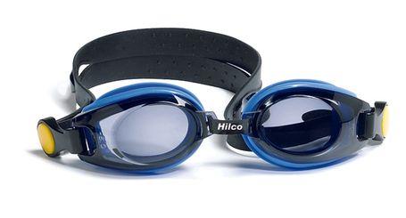 Leader Vantage Eyeglasses Ready to Wear Rx Kids Swim Goggles Junior Blue