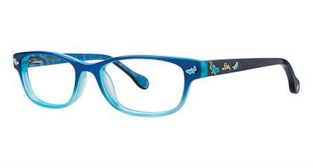 Lilly Pulitzer Sandrine Girls Eyeglasses Aqua