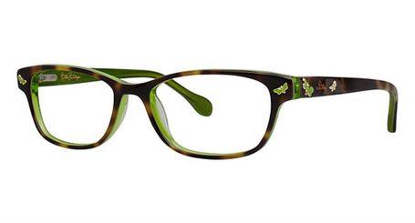 Lilly Pulitzer Girls Sandrine Eyeglasses Tortoise Lime