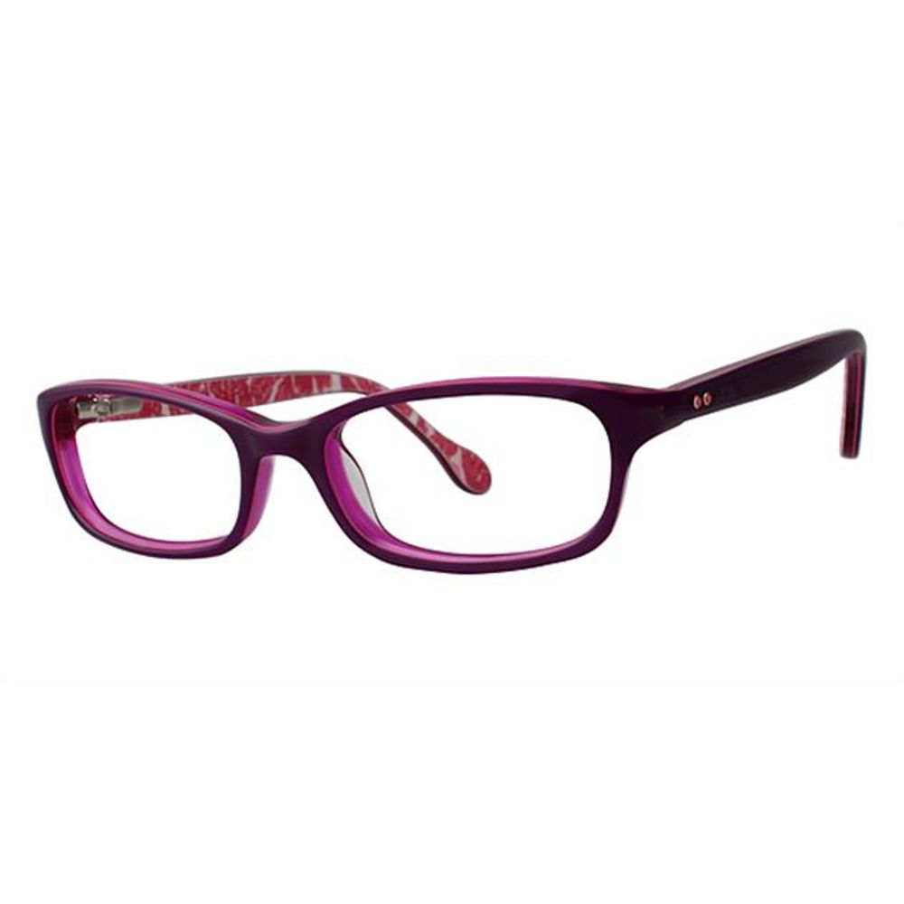 Lilly Pulitzer Girls Chandie Eyeglasses Eggplant Chandie EG - Optiwow