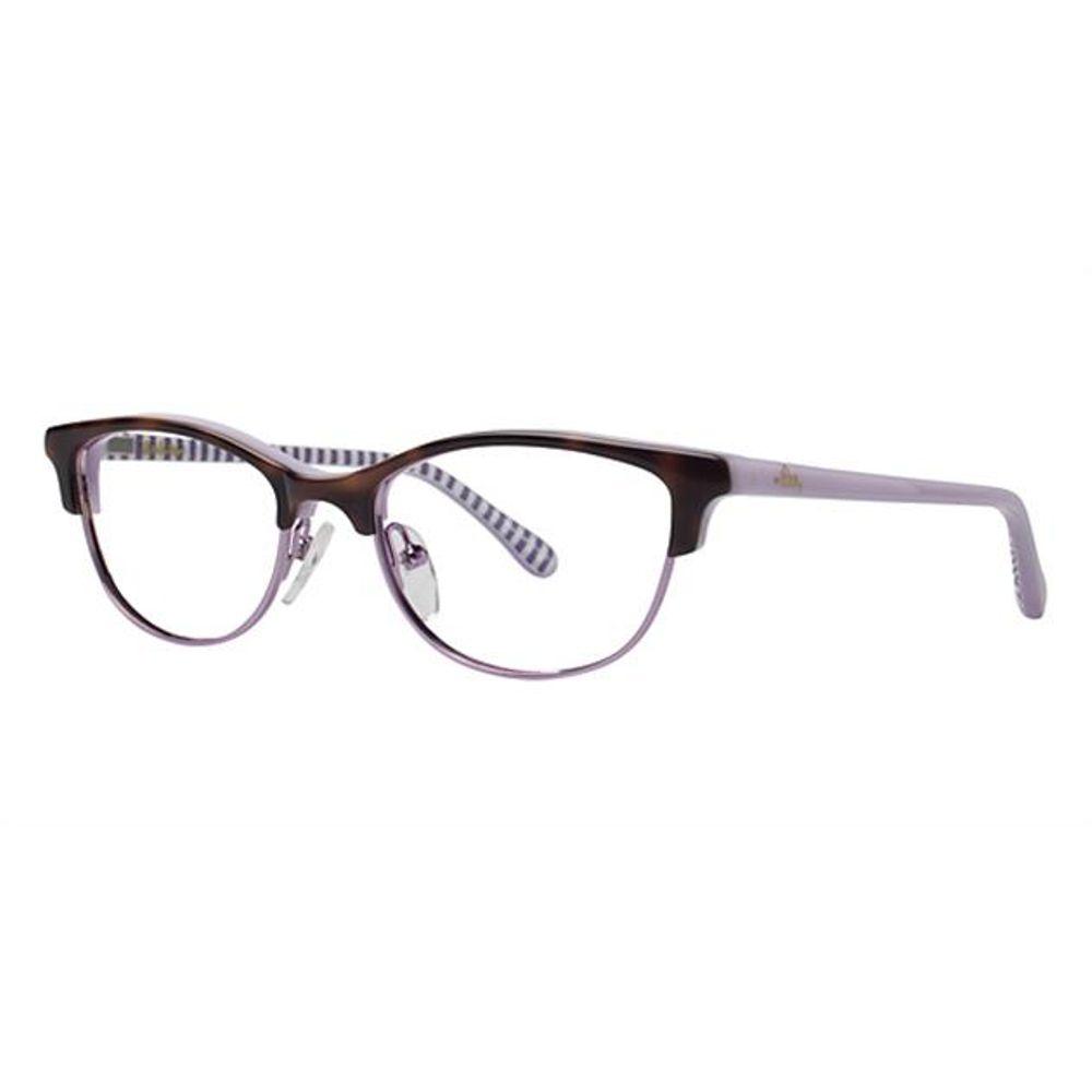 Lilly Pulitzer Girls Kipper Eyeglasses Tortoise Kipper TO - Optiwow