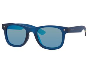 Polaroid Kids PLD 8009/N Sunglasses Polarized Blue Transparent -0UJO-JY