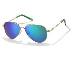 Polaroid Kids PLD-8015/N Sunglasses Polarized Gold/Green-0J5G-K7
