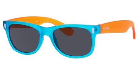 Polaroid Kids P 0115/S Sunglasses Polarized Blue/Orange-089T-Y2