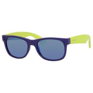 Polaroid Kids P 0115/S Sunglasses Polarized Blue/Lime-0UDF-JY