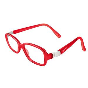 Nano NAO50024 Re-Play Kids Eyeglasses  Red/White Eye Size 42-15