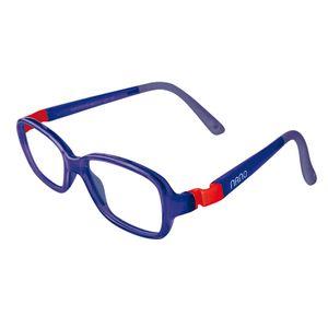 Nano NAO50137 Re-Play Kids Eyeglasses Blue Marine/Red Eyes Size 44-15